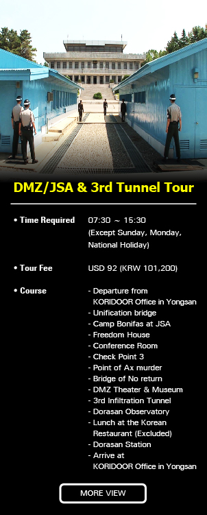 DMZ/JSA & 3rd Tunnel…